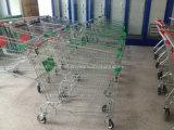 4 rodas trole de compra, carros de compra do mantimento para a venda