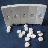 Alumina Ceramic Tile Curved / Arc Alumina Liner telha cerâmica