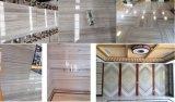 Lastre & mattonelle di marmo di legno di cristallo per la copertura & del parete del rivestimento per pavimenti, progetto, vena di legno di cristallo bianca, grano di legno di cristallo, nuovo marmo di legno delle vene della Cina