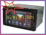 2 DIN HD Lecteur de DVD de voiture avec GPS Modem 3G/Wi-Fi