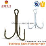 Zilveren Haak 9617 van de Visserij van Trebel van het Roestvrij staal van de Kleur