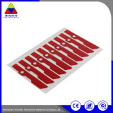 Kundenspezifischer Schutzpapier-Drucken-Kennsatz-Wärmeübertragung-Aufkleber