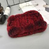 L'inverno su ordinazione della fascia di Hairband della pelliccia del coniglio delle signore di modo possiede la fabbrica