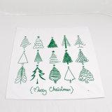 Verschiedenes kundenspezifisches Firmenzeichen-Weihnachtsgeschenk-verpackenwerbungs-Beutel