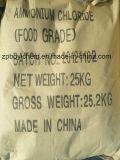 Het gezuiverde Chloride van het Ammonium van de Rang van het Voer met de Zak van het Document van Kraftpapier