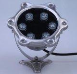 IP68 6W LEIDENE van de Vijver van het Roestvrij staal Lichten Onderwater