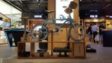 Bleu de ciel de type de Moden de système électrique de Pedelec d'ion de Tsinova de vélo