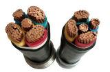 PVC изолировал обшитый PVC силовой кабель Sta Нул-Галоида Flame-Retardant медный