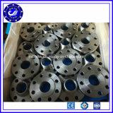 Flange de placa lisa da flange do aço de carbono do ANSI B16.5 do fornecedor A105 Q235 de China