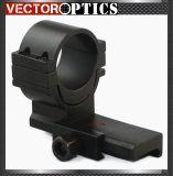 Vista de arma vermelha tática do ponto baixo 30mm liso & do espaço do PONTO do Aimpoint apto do anel de montagem do tecelão do alto nível