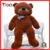 Urso de Brown gigante grande personalizado presente do luxuoso do dia de Chirdren