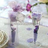 Velas de gel en frasco de vidrio para decoración