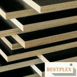 La madera contrachapada hecha frente película del Empalme-Dedo, Uno-Tiempo-Caliente-Presiona la madera contrachapada de la construcción,