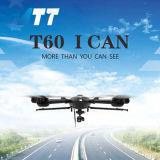 Veículos aéreos não tripulados T60 com câmaras de imagens térmicas de ir para o mapeamento das linhas de energia
