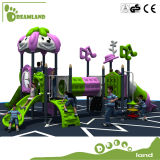 Оборудование спортивной площадки дешевых детей напольное с скольжением