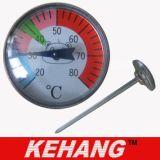 L'istante ha letto il termometro del bambino (KH-P104)