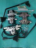 第3機能制御弁、第4機能制御弁が付いているトヨタのフォークリフト