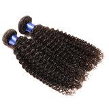 Cheveu bouclé brésilien de Vierge paquets brésiliens d'armure de cheveu de l'onde 8A de 4 paquets du doux 100 de Vierge non transformée profonde brésilienne de cheveux humains