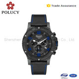 Leather Display Glass Top Mens Wood Carbon Fiber Watch Case