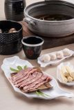 100 % de la mélamine de la vaisselle/plaque de la viande de mélamine/Round plaque profonde (WT405)