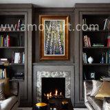 Полотно ручной работы окраска Aspen дерева стены искусства для интерьера