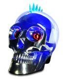 جمجمة [بلوتووث] المتحدث مع مصباح كهربائيّ, صوت واضحة بلّوريّة مع صوت جهير