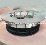 Couvercle célébré de molybdène/tungstène pour l'inducteur de la chaleur de saphir