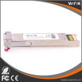 Transceptor das redes 10GBASE XFP 1330nm-TX/1270nm-RX 80km do zimbro