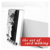 Карточка магнитной нашивки PVC номера высокого качества выбивая пластичная с Barcode