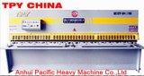Máquina de corte hidráulica de la placa de acero del péndulo