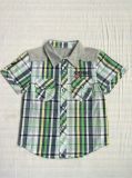 スクエア6243子供の衣服の綿の男の子のワイシャツ