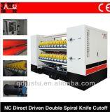 Nc impulsada directa de alta velocidad de corte de cuchilla de doble espiral (NCHQ-2200-2-SD).