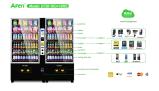 Комбинированный торговый автомат заедк питья с емкостью Hugh