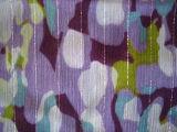75D*75D Lurex Yoryu mousseline de soie de l'impression