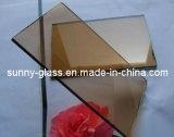 青銅色のフロートガラス/ガラス着色されたフロートガラス/建物