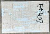 Azulejo concreto gris del molde con la talla de 120mmx180m m con la venta caliente