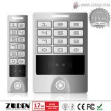 Controle de acesso impermeável de venda quente da porta da caixa RFID do metal
