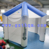 Dach-aufblasbares Zelt/Oxford-Tuch, das aufblasbares Zelt bekanntmacht