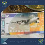 Sécurité personnalisée Anti-Fake ticket ou coupon avec UV invisible ou à fibre optique