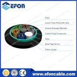 Câble fibre optique en acier de bande de porteur central de FRP (GYFTS)