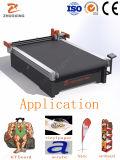 織物の旗パターン物質的な打抜き機プロッター装置