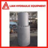 Cilindro hidráulico personalizado do desengate reto da energia hidráulica com aço de carbono
