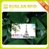 Carte à puce optique RFID en plastique personnalisée 2015 (échantillon gratuit à tester)