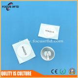 Etiqueta engomada del material NXP MIFARE Ntag213/215/216 RFID del papel/del animal doméstico para el E-Boleto