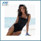 方法明白な女性の水着のBeachwearのビキニの水着