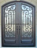 12 Anzeigeinstrument kaltgewalzte Stahlgefäß-Eisen-Haupteintrag-Türen für Landhaus