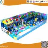 屋内柔らかい運動場装置のいたずらな城の子供のゲーム