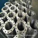 Stahl ANSI-SS304 schmiedete Platten-Flansch-flachen Flansch für Rohrfittings