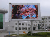 LED de Cores pública sinal em movimento para a publicidade (DIP P20)
