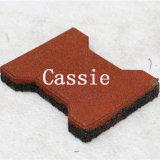 Abrasivos pavimentadora de goma anti coloridos azulejos de goma